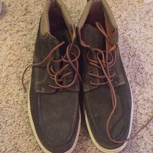 Olive army green Steve Madden shoes size 12